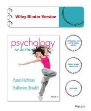 Psychology in Action, Binder Ready Version