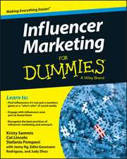 Influencer Marketing for Dummies:  Managing People and Projects in a Flat World