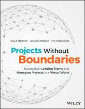 Projects Without Boundaries: Successfully Leading Teams and Managing Projects in a Virtual World