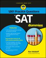 Sat: 1,001 Practice Questions For Dummies