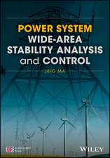 Power System Wide–area Stability Analysis and Control
