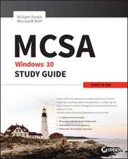 MCSA Windows 10 Study Guide: Exam 70–698