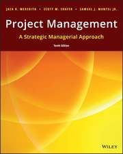 Project Management: A Strategic Managerial Approach