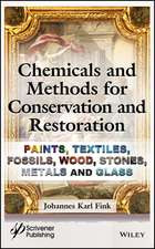 Chemicals and Methods for Conservation and Restoration