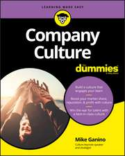 Company Culture For Dummies