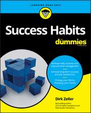 Success Habits For Dummies