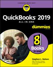 QuickBooks 2019 All–in–One For Dummies