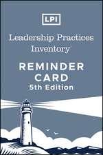 Lpi: Leadership Practices Inventory Reminder Card