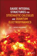 Gauge Integral Structures for Stochastic Calculus and Quantum Electrodynamics