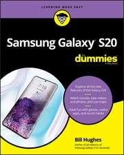 Samsung Galaxy S20 For Dummies