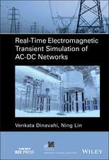 Real–Time Electromagnetic Transient Simulation of AC–DC Networks