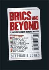BRICs and Beyond: Lessons on Emerging Markets