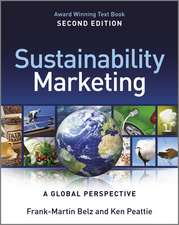 Sustainability Marketing: A Global Perspective