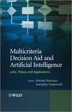 Multicriteria Decision Aid and Artificial Intelligence: Links, Theory and Applications