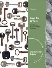 Keys for Writers, International Edition