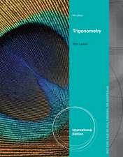Trigonometry, International Edition