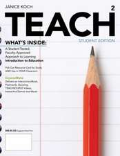 Koch, J: TEACH (with CourseMate Printed Access Card)