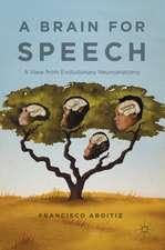 A Brain for Speech: A View from Evolutionary Neuroanatomy