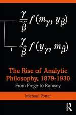 Early Analytic Philosophy
