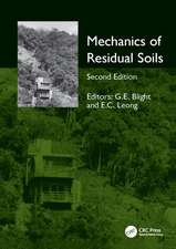 MECHANICS OF RESIDUAL SOILS 2E