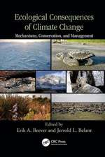 ECOLOGICAL CONSEQUENCES CLIMATE CHA
