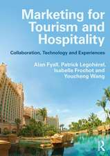 Fyall, A: Marketing for Tourism and Hospitality