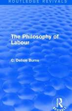 The Philosophy of Labour