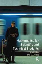 MATHEMATICS FOR SCIENTIFIC & T