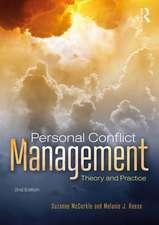 Personal Conflict Management