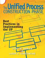 Unified Process Construction Phase