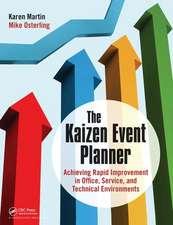 Kaizen Event Planner