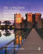 Longman Standard History of Medieval Philosophy