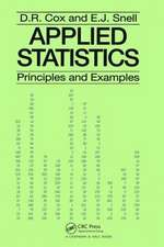 Applied Statistics - Principles and Examples