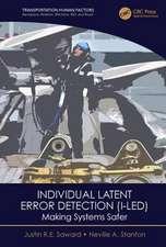 Saward, J: Individual Latent Error Detection (I-LED)