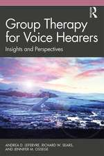 Group Therapy for Voice Hearers