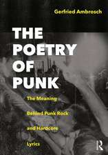 Poetry of Punk