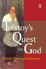 TOLSTOY S QUEST FOR GOD