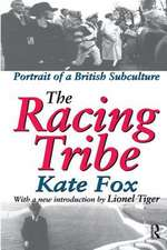 RACING TRIBE PORTRAIT OF A BRITISH