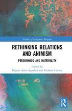 ANIMISM MATERIALITY AND RELATIONAL