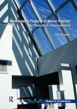 Architectural Projects of Marco Frascari