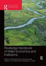 Routledge Handbook of Water Economics and Institutions