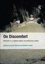 On Discomfort