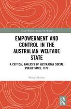 Empowerment and Control in the Australian Welfare State