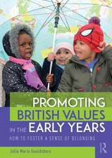 Promoting British Values in the Early Years
