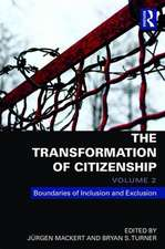 The Transformation of Citizenship, Volume 3