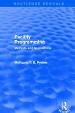 Facility Programming (Routledge Revivals)