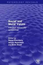 SOCIAL AND MORAL VALUES PREV RPD
