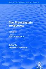 Frankenstein Notebooks