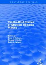 THE BRADFORD STUDIES OF STRATEGIC D