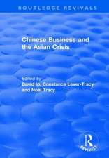 Chinese Business and the Asian Crisis